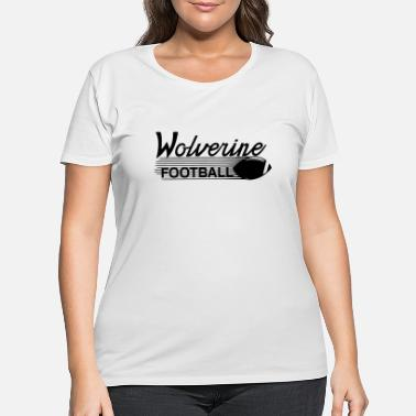 Wolverines wolverines - Women's Plus Size T-Shirt