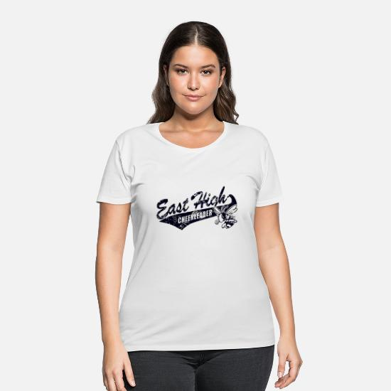 Cheerleading T-Shirts - East High CHEERLEADER - Women's Plus Size T-Shirt white