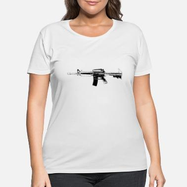 Strike rifle - Women's Plus Size T-Shirt