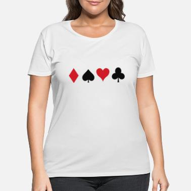 Cards Cards - Women's Plus Size T-Shirt