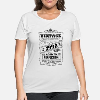 Vintage 1998 Vintage Aged To Perfection 1998 - Women's Plus Size T-Shirt