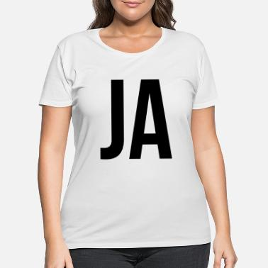 Ja JA - Women's Plus Size T-Shirt