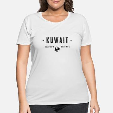 Kuwait Kuwait - Women's Plus Size T-Shirt