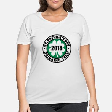 Ireland St. Patricks day 2018 - Women's Plus Size T-Shirt