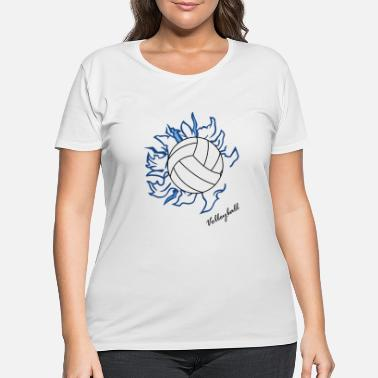 Volley Volley ball - Women's Plus Size T-Shirt