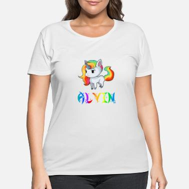 Alvin Alvin Unicorn - Women's Plus Size T-Shirt