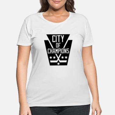 City Of Champions City of Champions - Black - Women's Plus Size T-Shirt