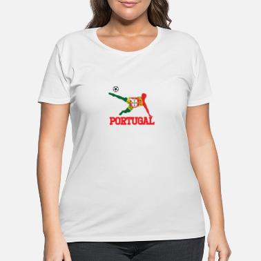 Portugal portugal soccer, #portugal - Women's Plus Size T-Shirt