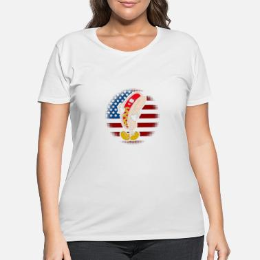 HAPPY 4TH YALL - Women's Plus Size T-Shirt