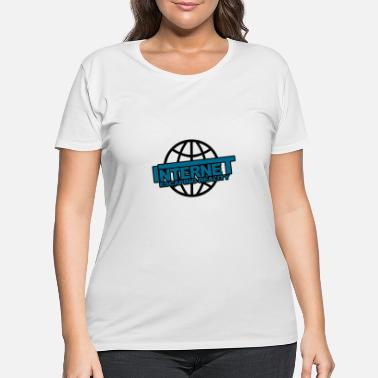 Internet Internet - Women's Plus Size T-Shirt