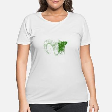Goat Goat - Women's Plus Size T-Shirt