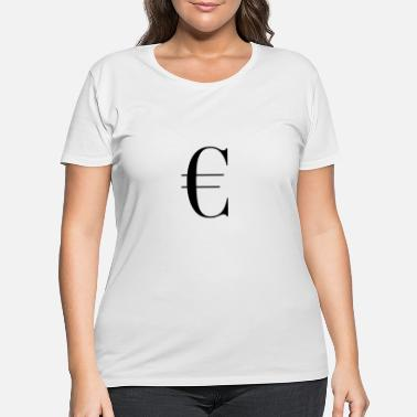 Gelding € Geld Dollar Money - Women's Plus Size T-Shirt