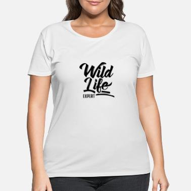 Wildlife Tourist Crew Wildlife Tourist Tourism Wilderness Wild Life Team - Women's Plus Size T-Shirt