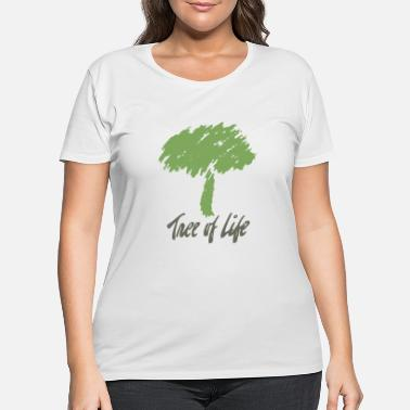 Tree Tree Of Life - Women's Plus Size T-Shirt
