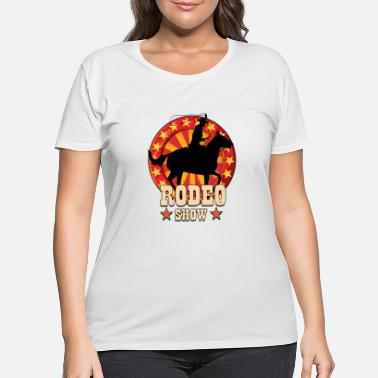 Show Jumping Rodeo Show - Women's Plus Size T-Shirt