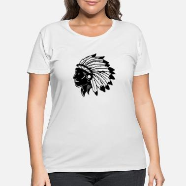 American Indian American Indian - Women's Plus Size T-Shirt