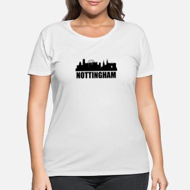 Nottingham Nottingham Skyline - Women's Plus Size T-Shirt