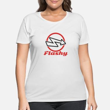 Flashy Flashy - Women's Plus Size T-Shirt