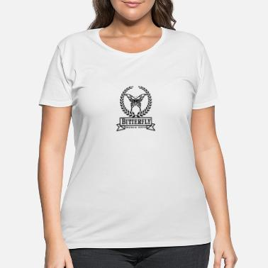 Butterfly design t-shirts - Women's Plus Size T-Shirt