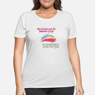 Pot Of Gold Grandkids are the Pot of Gold - Women's Plus Size T-Shirt