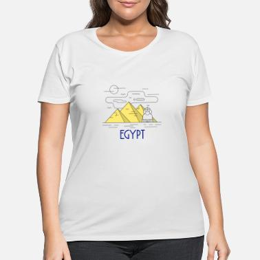 Sphinx Egypt - Women's Plus Size T-Shirt