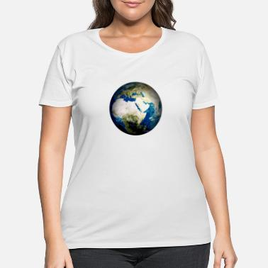 Planet Earth planet earth - Women's Plus Size T-Shirt