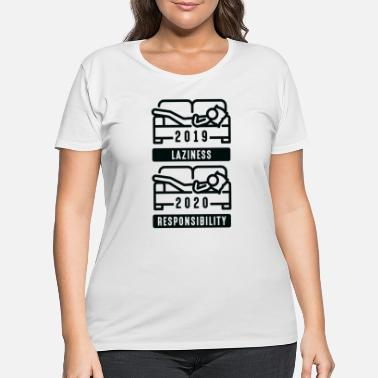 Couch Quarantine Couch - Women's Plus Size T-Shirt