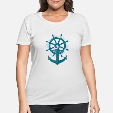Anchor Anchor - Women's Plus Size T-Shirt
