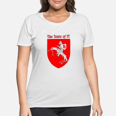 State The State of IT - Women's Plus Size T-Shirt