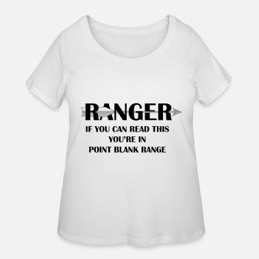 RANGER - Point Blank Range Women's Jersey T-Shirt - heather gray