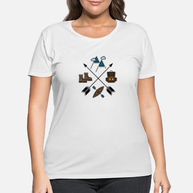 Wilderness Wilderness - Women's Plus Size T-Shirt