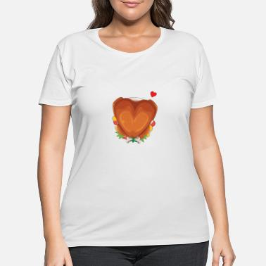Turkey Happy Thanksgiving Benediction Blessing - Women's Plus Size T-Shirt
