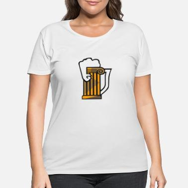 Brewed Brews - Women's Plus Size T-Shirt