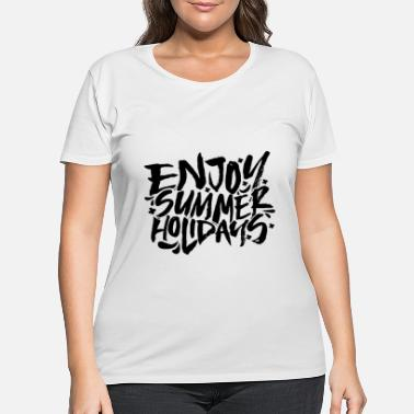Summer Vacation - Women's Plus Size T-Shirt