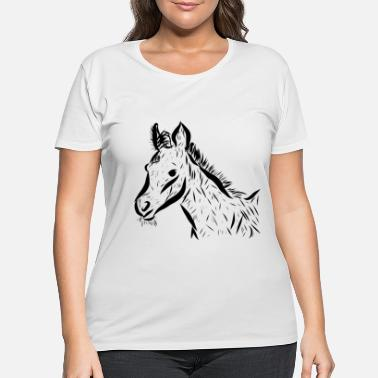 Foal Foal - Women's Plus Size T-Shirt