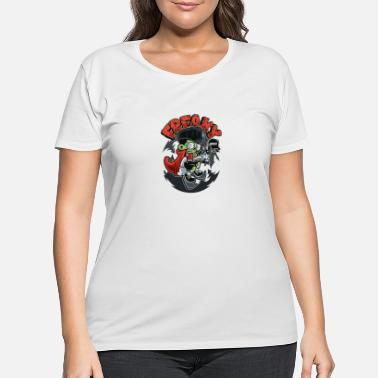 Freaky Freaky - Women's Plus Size T-Shirt
