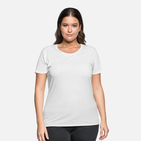 Birthday T-Shirts - Gamer by Nature - Women's Plus Size T-Shirt white