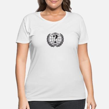 Anonyous Anonymous - Women's Plus Size T-Shirt