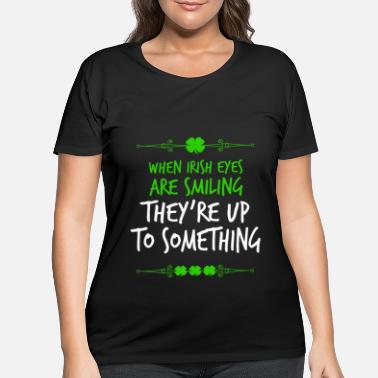 Geek St. Patrick's Day - Women's Plus Size T-Shirt