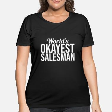 Seller Seller Gift Saleswoman Loading - Women's Plus Size T-Shirt