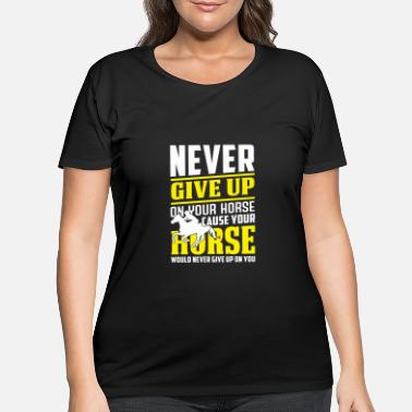 Riding Club Ride Rider Horse Riding Dressage Club - Women's Plus Size T-Shirt