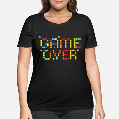 Console Game over console - Women's Plus Size T-Shirt