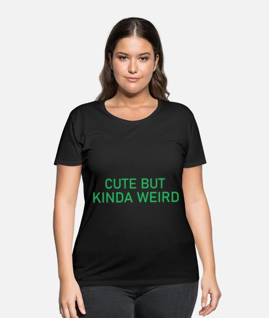 Quote T-Shirts - Funny Shirts | Funny Shirts Humor | Funny Quotes - Women's Plus Size T-Shirt black