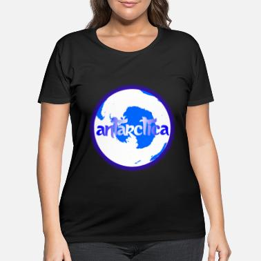 South Pole Antarctica South Pole - Women's Plus Size T-Shirt