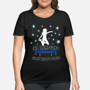 Jumpstyle Jumping Trampoline Jump Jumpstyle Jumper Fitness - Women's Plus Size T-Shirt