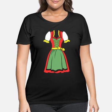 Dirndl dirndl - Women's Plus Size T-Shirt