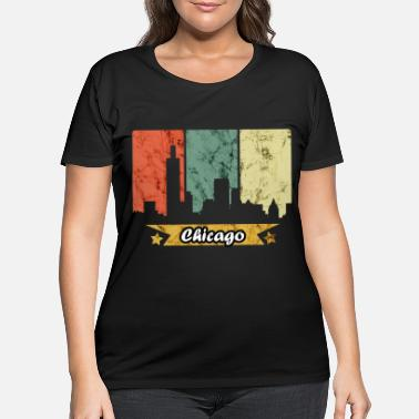 Chicago Chicago - Women's Plus Size T-Shirt