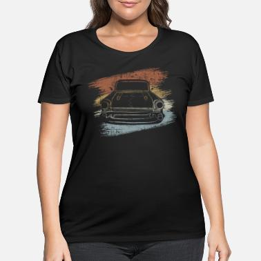 Vintage Car Vintage Car - Women's Plus Size T-Shirt