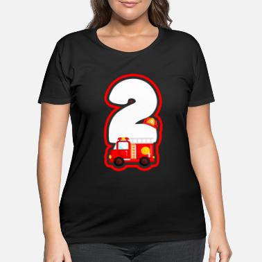 Birthday Present Birthday present for the 2nd birthday - Women's Plus Size T-Shirt