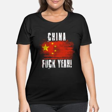 China China Fuck Yeah! - Women's Plus Size T-Shirt